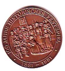 Meistertrunk Festspielmuenze 1981rs