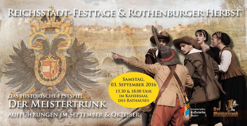 Meistertrunk - Plakat RSFT und RH 2016