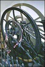 Prägemaschine mit Dampfantrieb